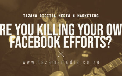 How You Are Killing Your Own Facebook Efforts