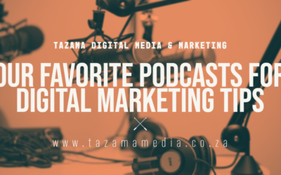 Our Favorite Podcasts for Digital Marketing Tips